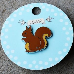 Erstwilder Pin – Scrupulous Squirrel