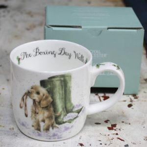 Wrendale Mug – Boxing Day Walk (Dog)