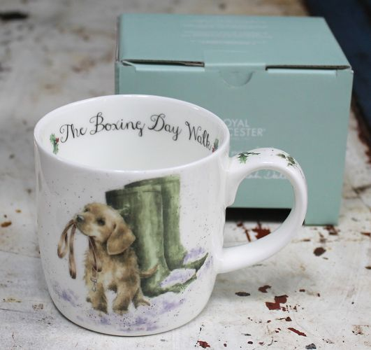 morpeth gift gallery hunter valley boxing day walk wrendale royal worcester fine bone china mug coffee tea hot chocolate .31 litre 11 oz ounce