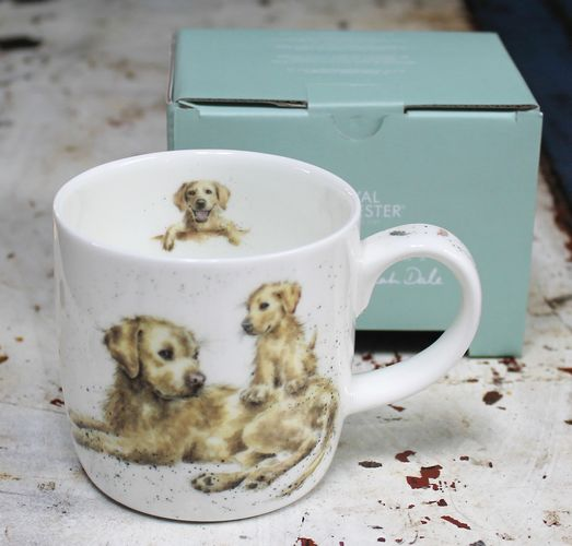 morpeth gift gallery hunter valley devotion labrador wrendale royal worcester fine bone china mug coffee tea hot chocolate .31 litre 11 oz ounce
