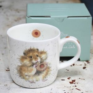 Wrendale Mug – Diet Starts Tomorrow (Field Mouse)