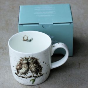 Wrendale Mug – Birds of a Feather (Owls)