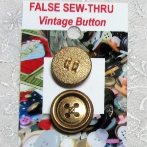 False Sew-thru Buttons