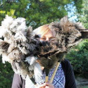 Ostrich Feather Duster – 35cm