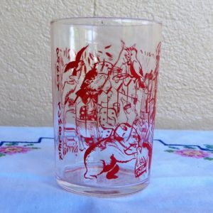 Cottee's Party Tumbler Red