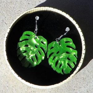 Erstwilder Earrings – Green Eyed Monster