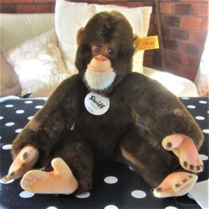 morpeth teddy bears hunter valley Steiff open edition Jocko chimpanzee