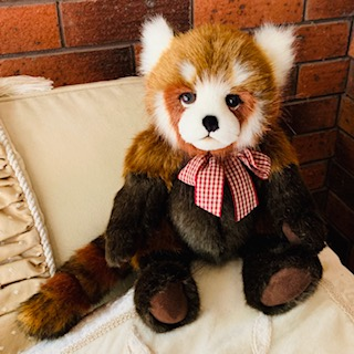 TRUCKLE, BEARHOUSE RED PANDA mORPETH tEDDY bEARS cHARLIE