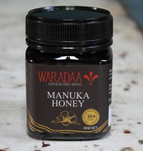 morpeth gourmet foods hunter valley waradaa australian manuka honey raw