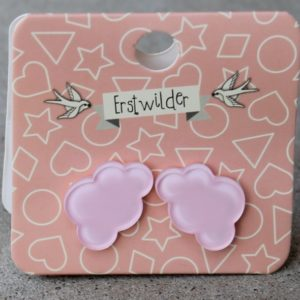 Erstwilder Earrings – Cloud Stud Pink