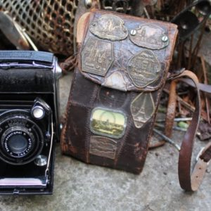 Kodak Camera & Leather Case