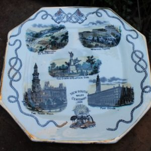 NSW Centenary of British Settlement Plate