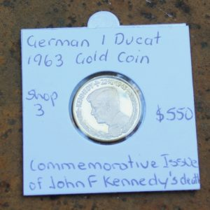 Gold JFK Commemorative Coin