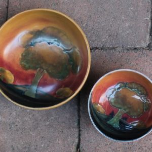 morpeth antique centre hunter valley england william moorcroft eventide bowl circa 1923 1930's