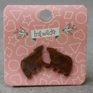 Erstwilder Earrings – Brown Bear Studs