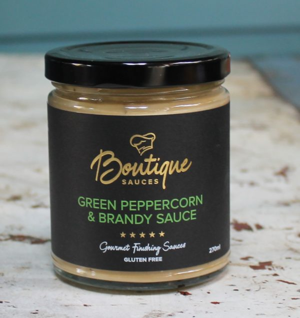morpeth gourmet foods hunter valley boutique sauces green peppercorn brandy sauce