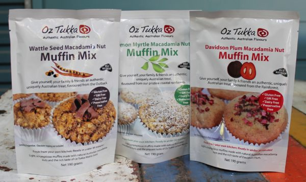 morpeth gourmet foods hunter valley gift gallery oz tukka australian wattle seed davidson plum lemon myrtle muffin mix