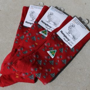 Christmas Socks – Red Medium