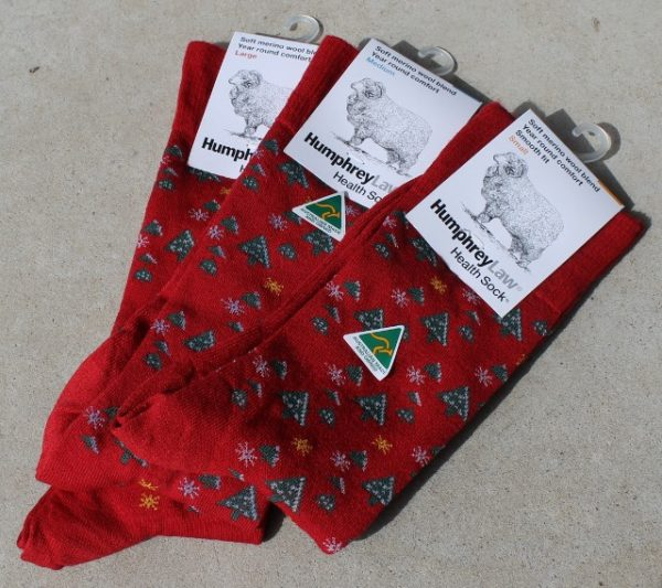 morpeth gift gallery hunter valley humphrey law health sock christmas green small medium large ladies mens unisex
