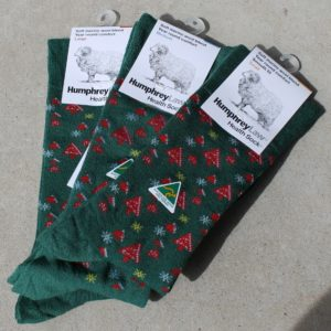 Christmas Socks – Green Small