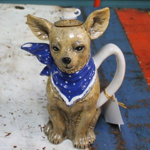 Chihuahua with Teacup Teapot