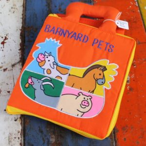 Cloth Book – Barnyard Pets