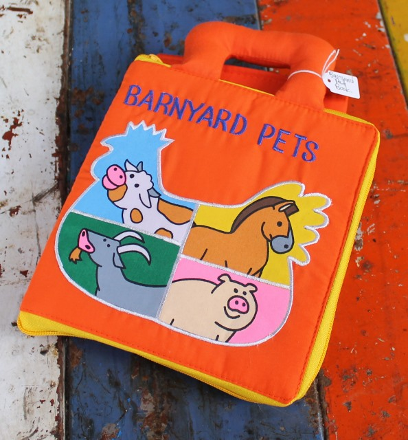 morpeth gift gallery hunter valley dyles cloth book barnyard pets