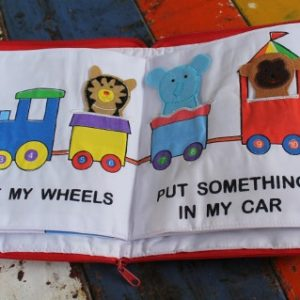 Cloth Book – Quiet Time Circus