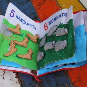 Cloth Book – My Australian Animals