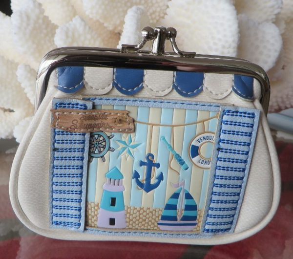 morpeth gift gallery hunter valley vendula london seaside souvenier clipper coin purse handbag vegan friendly leather collectable