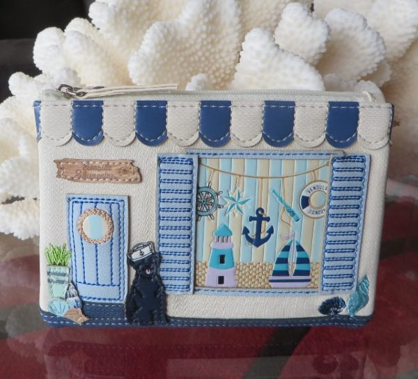morpeth gift gallery hunter valley vendula london seaside souvenier zipper key coin purse handbag vegan friendly leather collectable