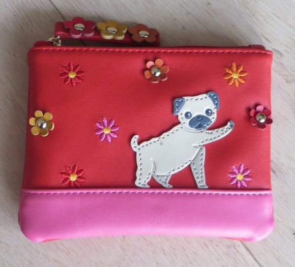 morpeth gift gallery hunter valley vendula london tuk zipper coin purse pug dog handbag vegan friendly leather collectable