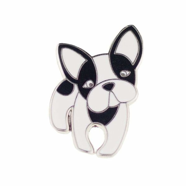 Erstwilder Enamel Pin - Fabian the French Bulldog -