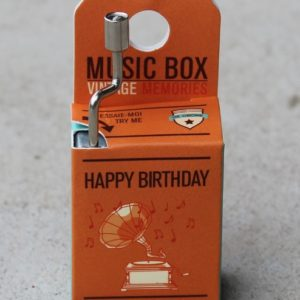 Music Box  – Happy Birthday