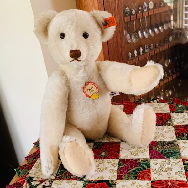 morpeth teddy bears Steiff Petsy 1928 replica white 2020