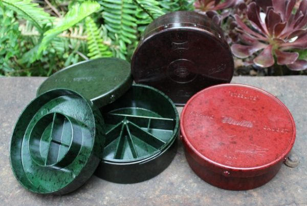 morpeth antique centre hunter valley bakelite fishing tackle boxes steelite alvey