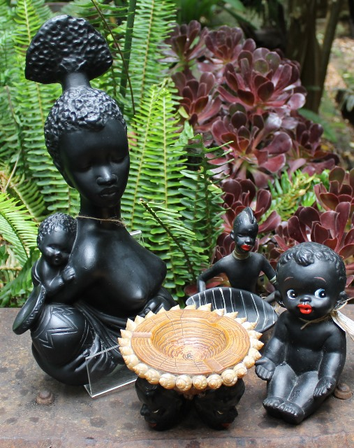 morpeth gift gallery hunter valley ceramic black figurines japan shell art