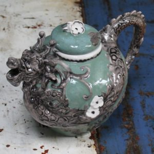Green Dragon Teapot