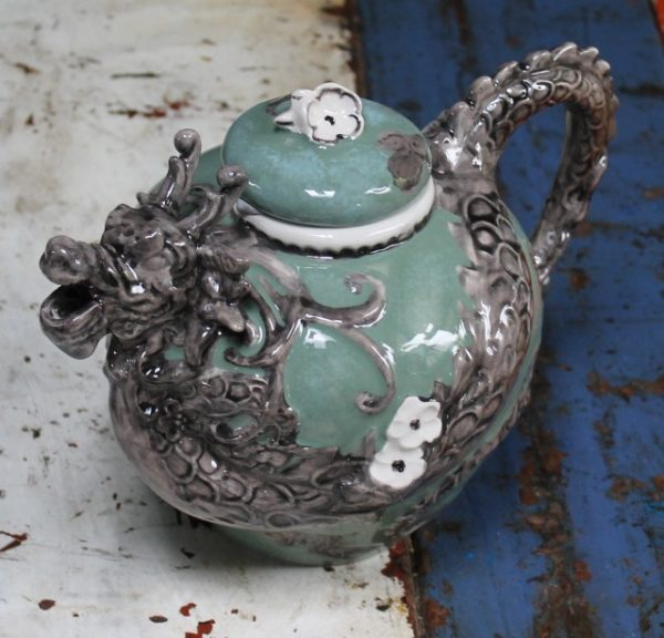 morpeth gift gallery hunter valley novelty teapot functional dragon chinese