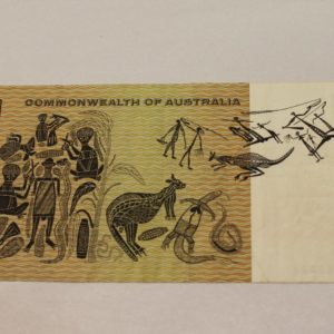 Australian One Dollar Note AAA Prefix
