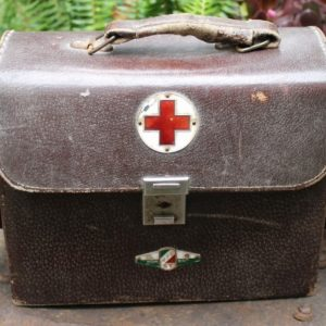WWII Japanese First Aid Bag