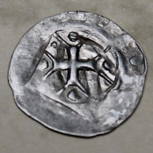 Black Plague Silver Heller Coin