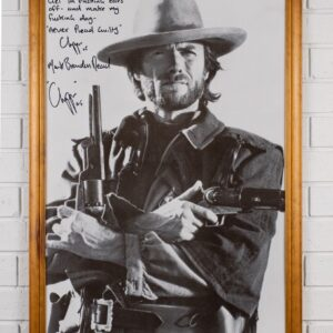 Framed Print of Clint Eastwood