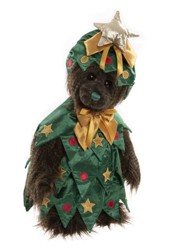 Morpeth Teddy Bears Charlie Bear Plush Collection Hunter Valley Balsam bear dressed Christmas Tree