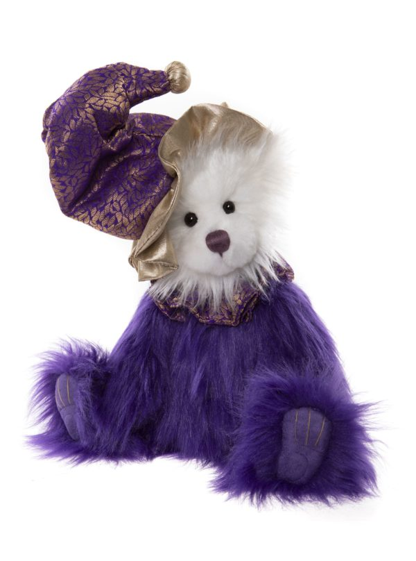 Morpeth Teddy Bears Charlie Bear Plush Collection Hunter Valley Stilts clown purple
