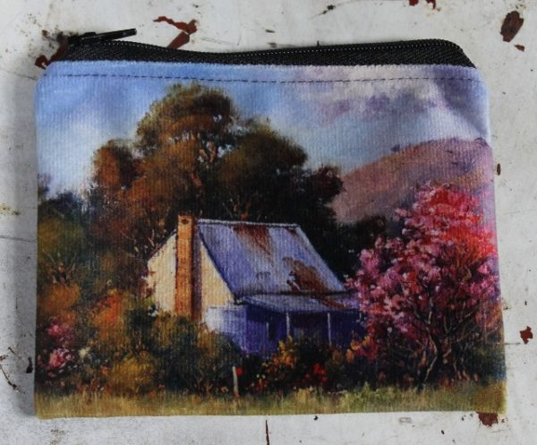 morpeth gift gallery hunter valley zip zippered purse coins toiletries make-up keys country homestead australian brungle new south wales