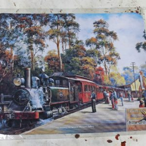Computer Mouse Mat – Steam Train
