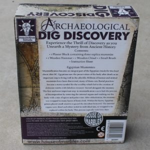 Dig it Out Kit – Egyptian Mummies