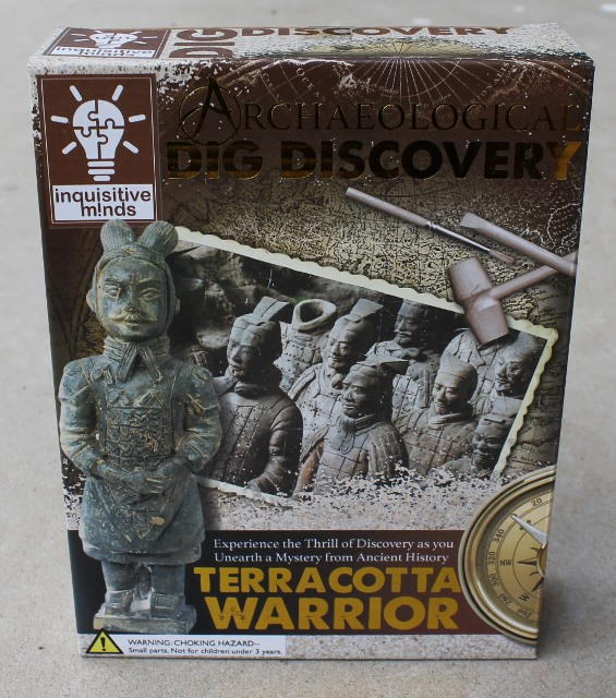 morpeth gift gallery hunter valley geological discovery dig it out chinese china terracotta warrior replica activity kit for children adults family fun