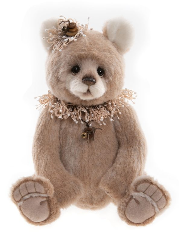 Morpeth Teddy Bears Charlie Bear Isabelle mohair Alpaca Collection Hunter Valley Barley